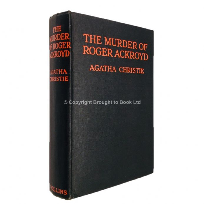 The Murder of Roger Ackroyd by Agatha Christie Fourteenth Impression W. Collins Sons & Co Ltd 1935